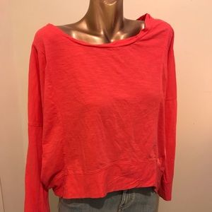Lane Bryant coral top